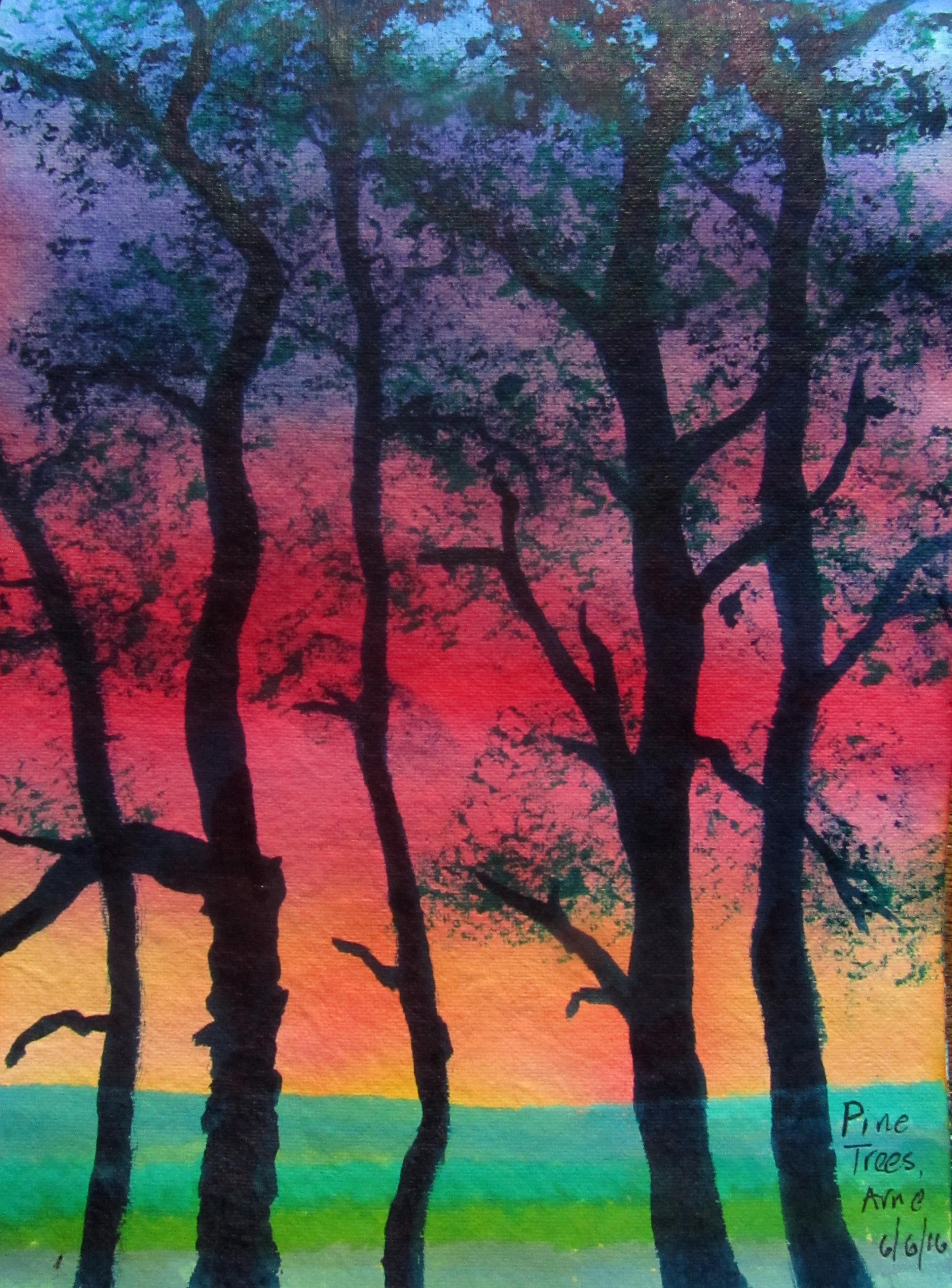 Arne fir trees