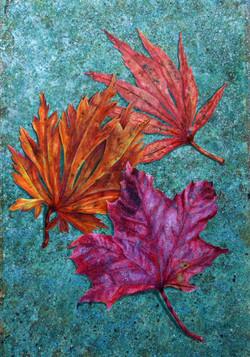 Still life leaves, large
