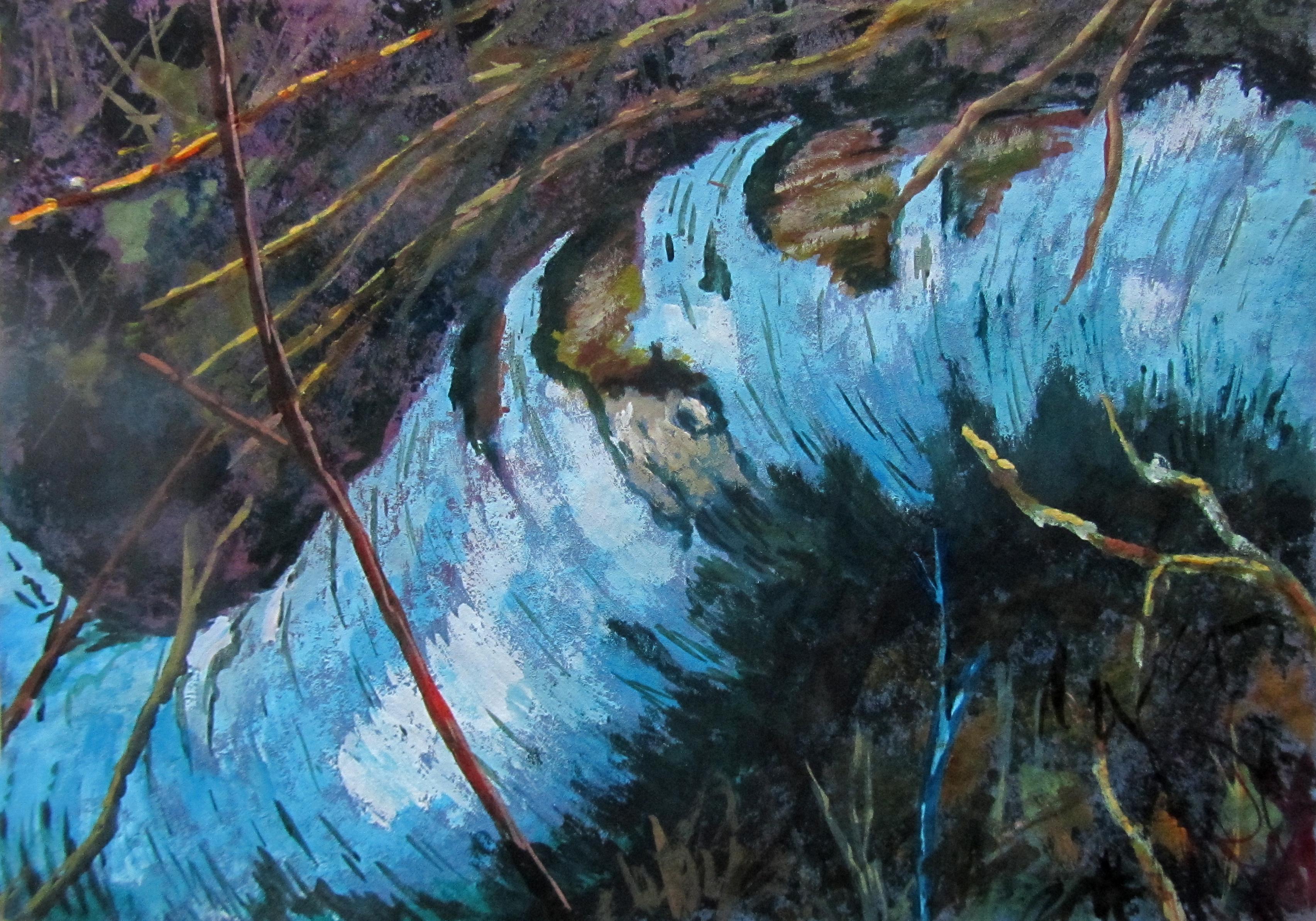 Arne, decaying birch branch