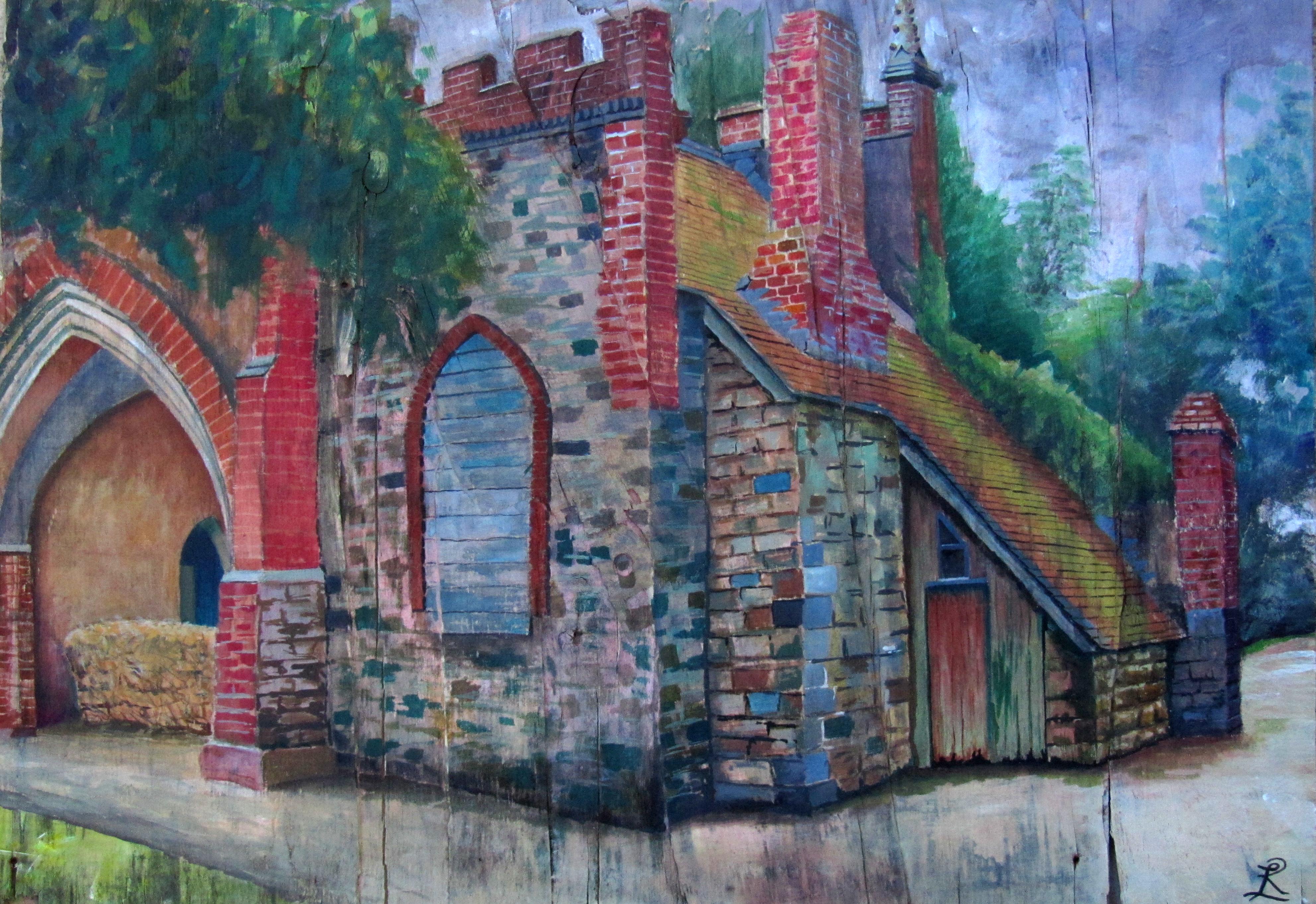 Bindon Abbey Gatehouse