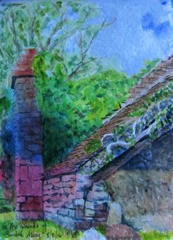Bindon Abbey outbuilding