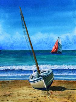 Boats, Carolles Beach