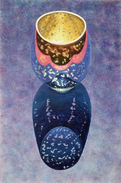 Still life vase, large
