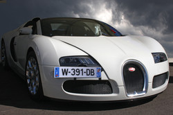Veyron and clouds