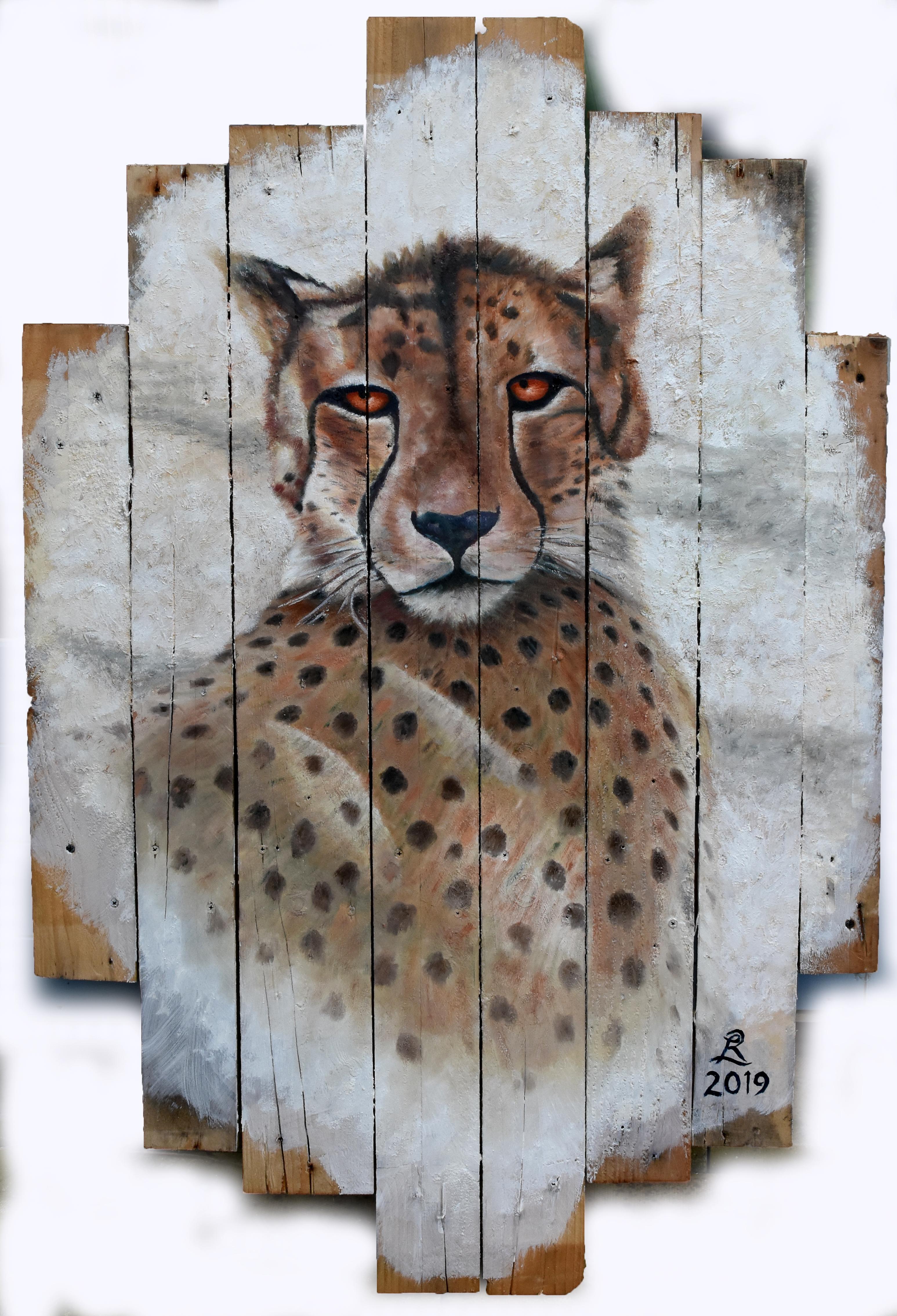 Reclining Cheetah