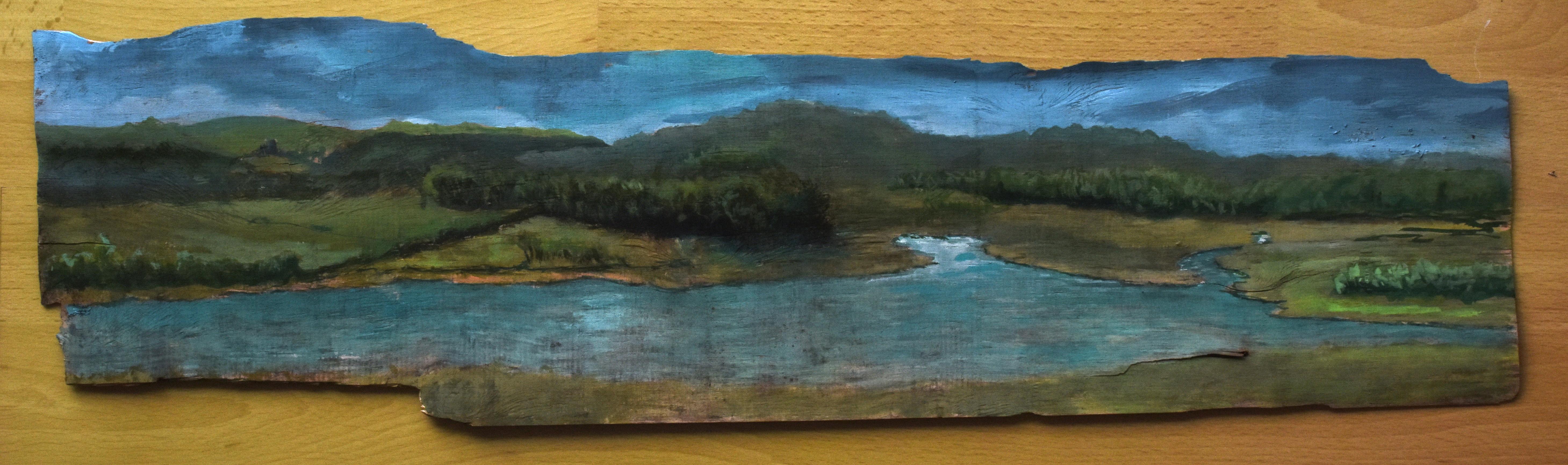 Arne panorama on wood II
