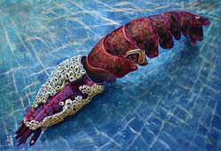 Still life lobster, large