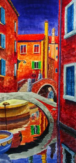 Venetian Canal view