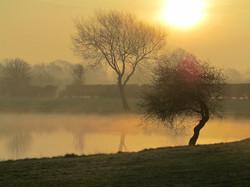 South Cerney sunrise