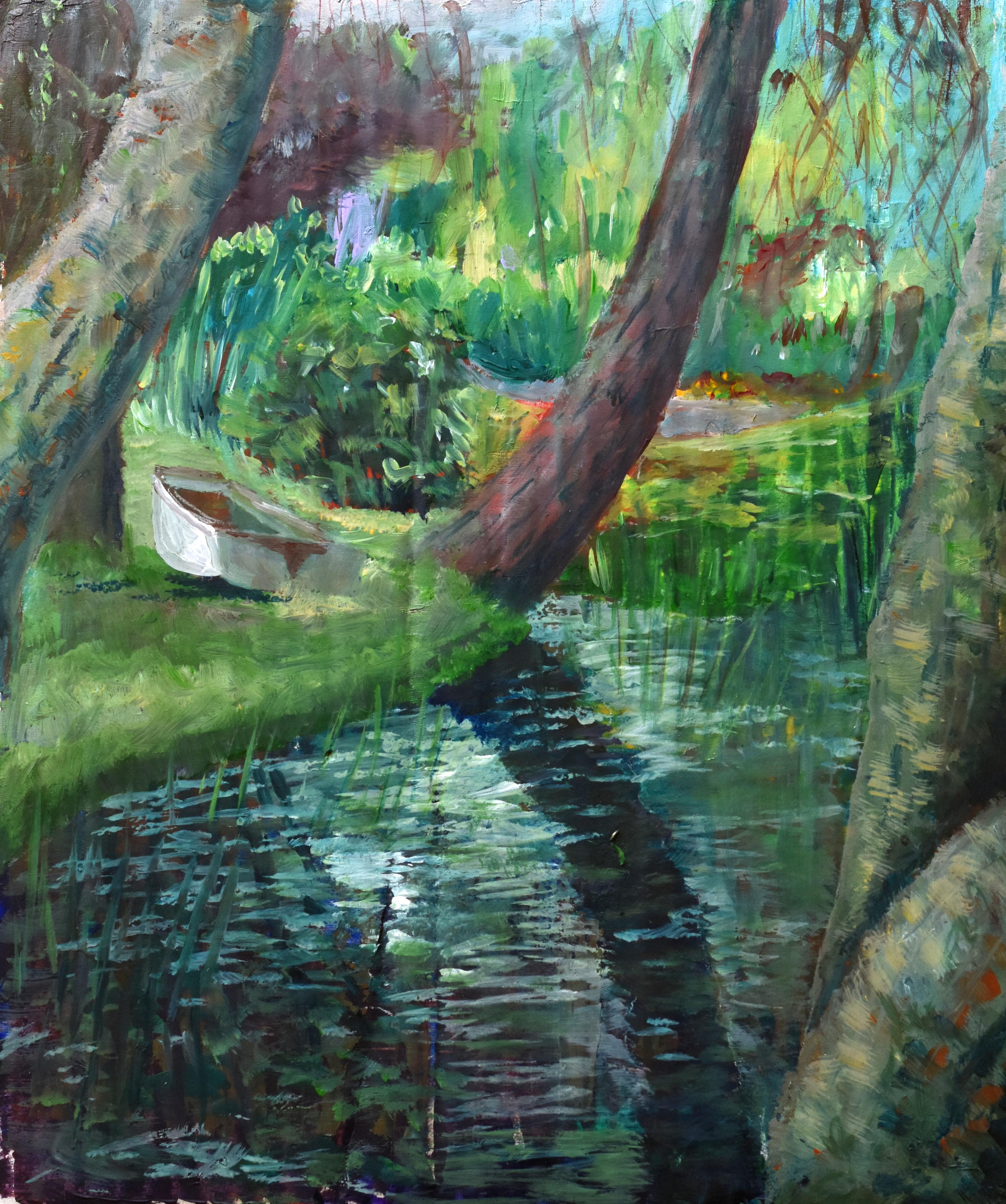 Steeple Manor pond