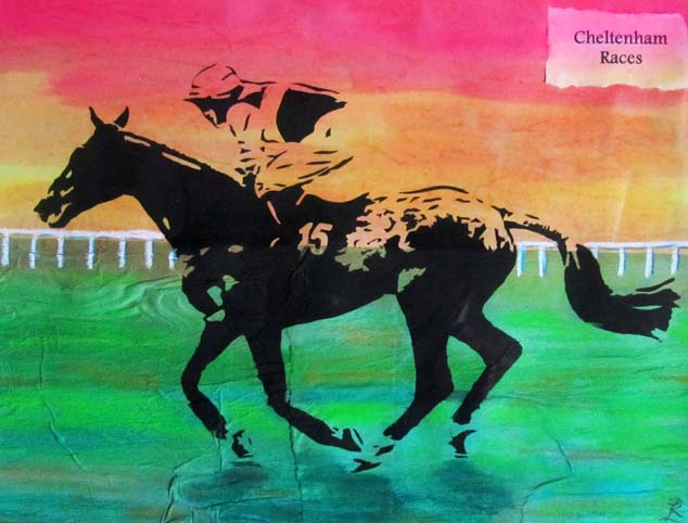 single_horse_screen_print_1