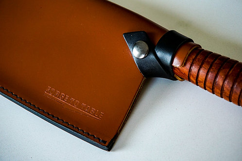Classic Cleaver Leather Saya