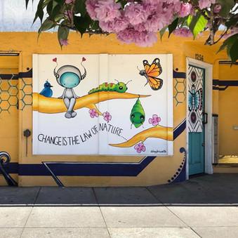 Bright Spot!  Mural at Alaya