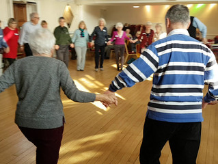 A University of The Third Age Barn Dance