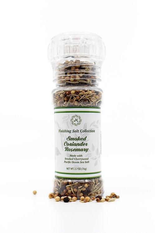 Smoked Coriander Rosemary Finishing Salt