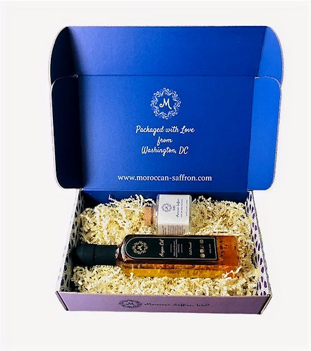Argan & Saffron Gift Box