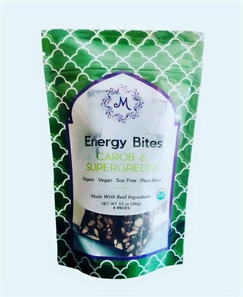 Carob & Supergreens Energy Bites