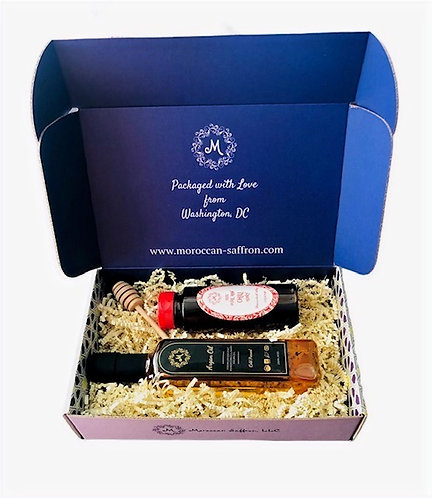Argan & Honey Gift Box