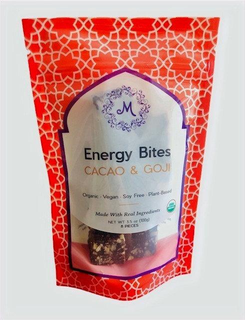 Cacao & Goji Energy Bites