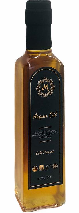 Premium Organic Moroccan Culinary Argan Oil - 250 ml