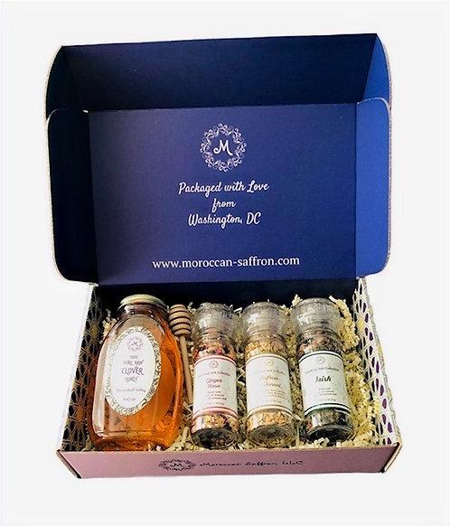 Honey & Seasoning Gift Set