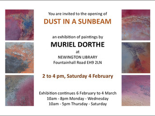 Exhibition: Dust in a Sunbeam