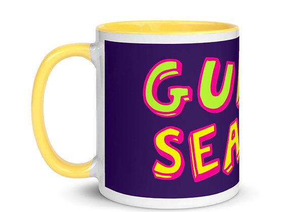 Purple/Yellow Guava Season Color Inside Mug