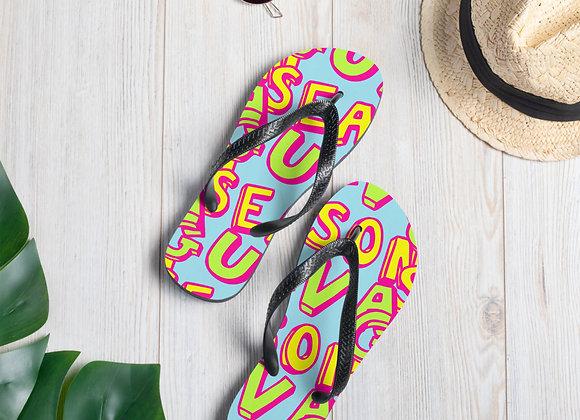Guava Season Flip-Flops