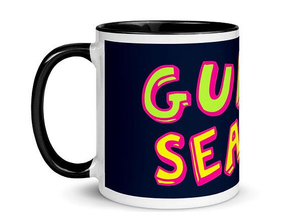 Navy/Black Guava Season Color Inside Mug
