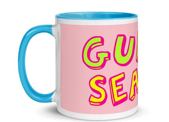 Pink/Blue Color Inside Mug