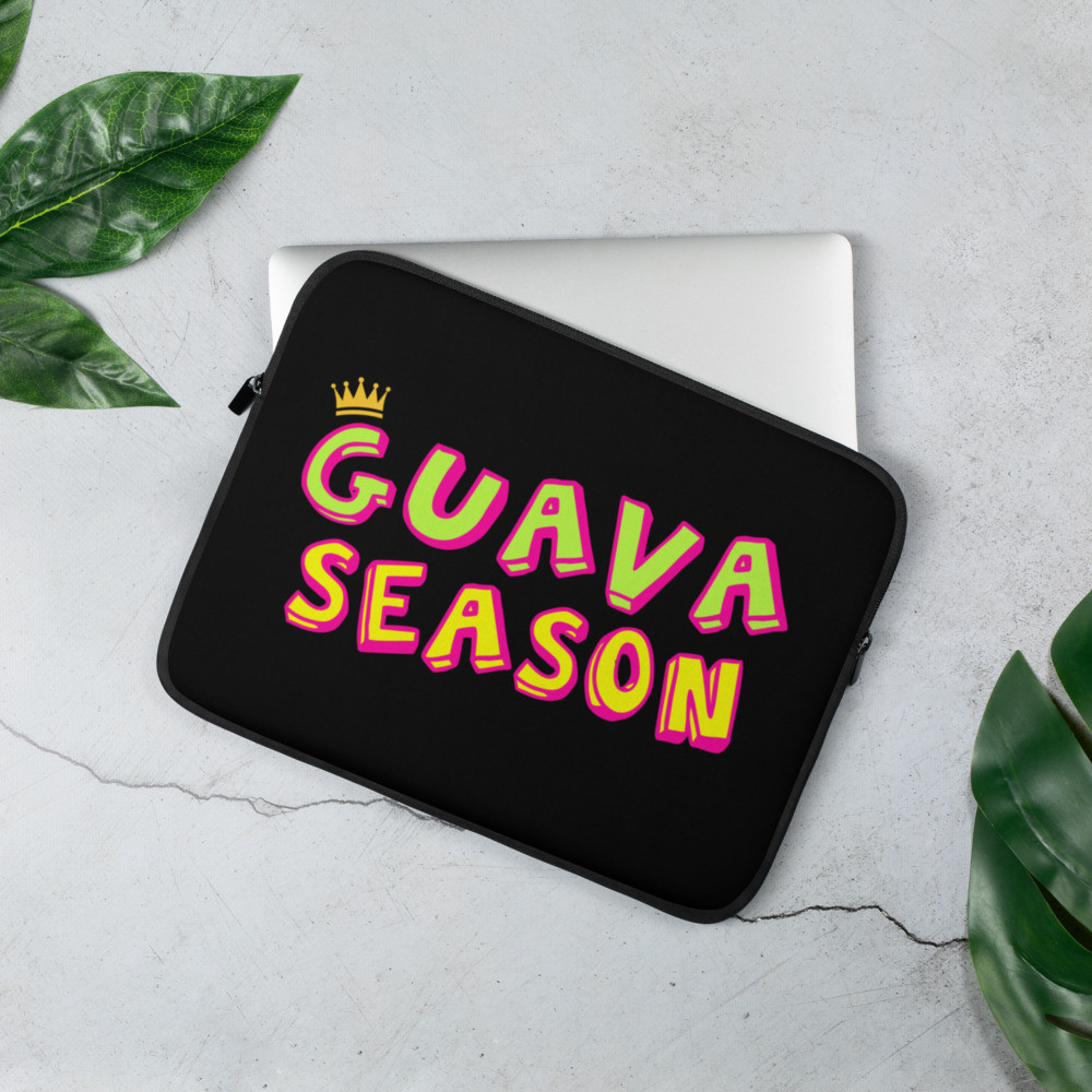 Guava Season Laptop Sleeve