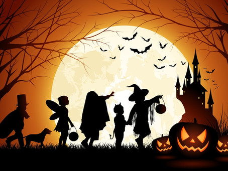 """Hello, Halloween!"": вечеринка на английском языке"