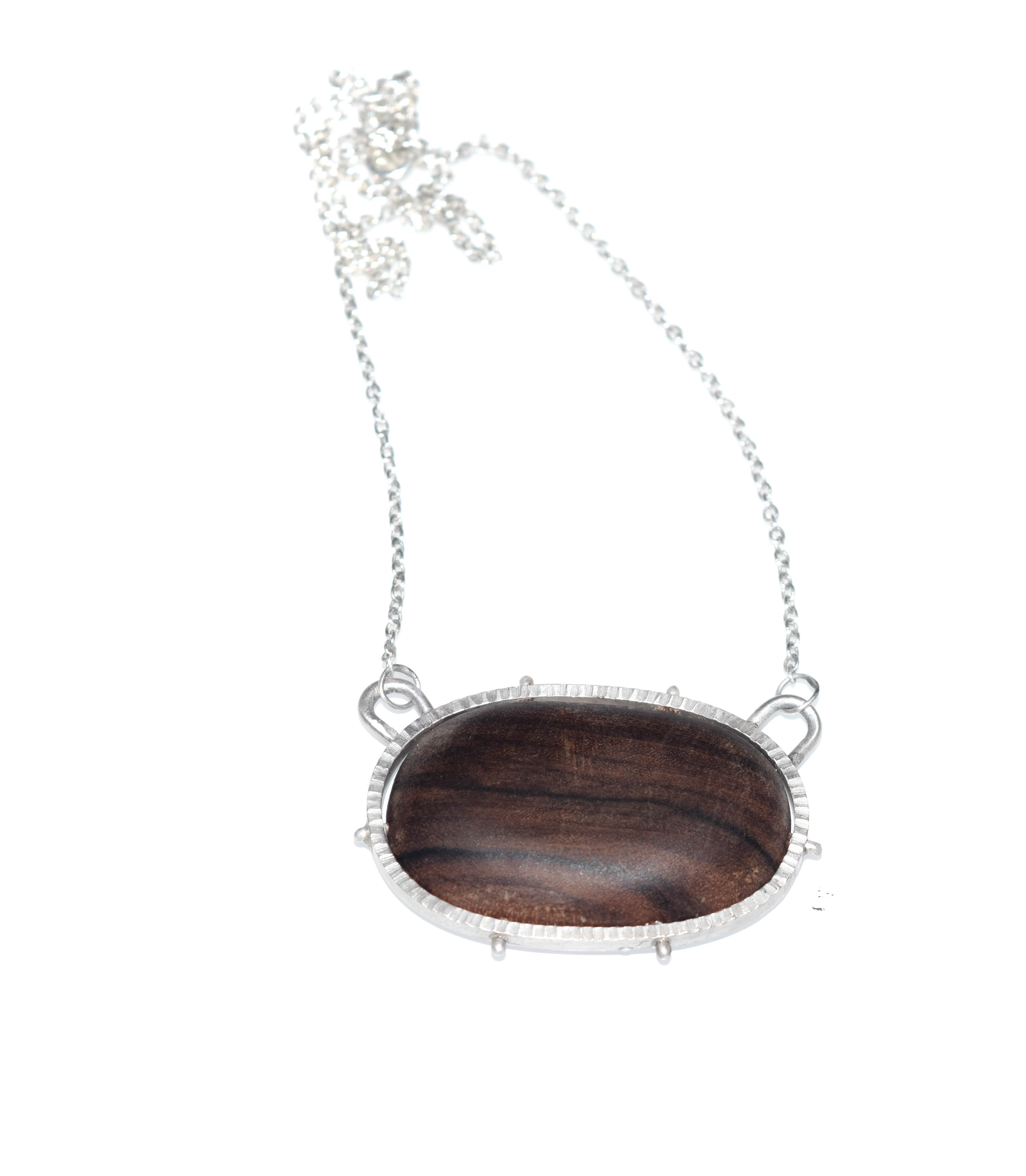 Pecan wood Necklace (small)