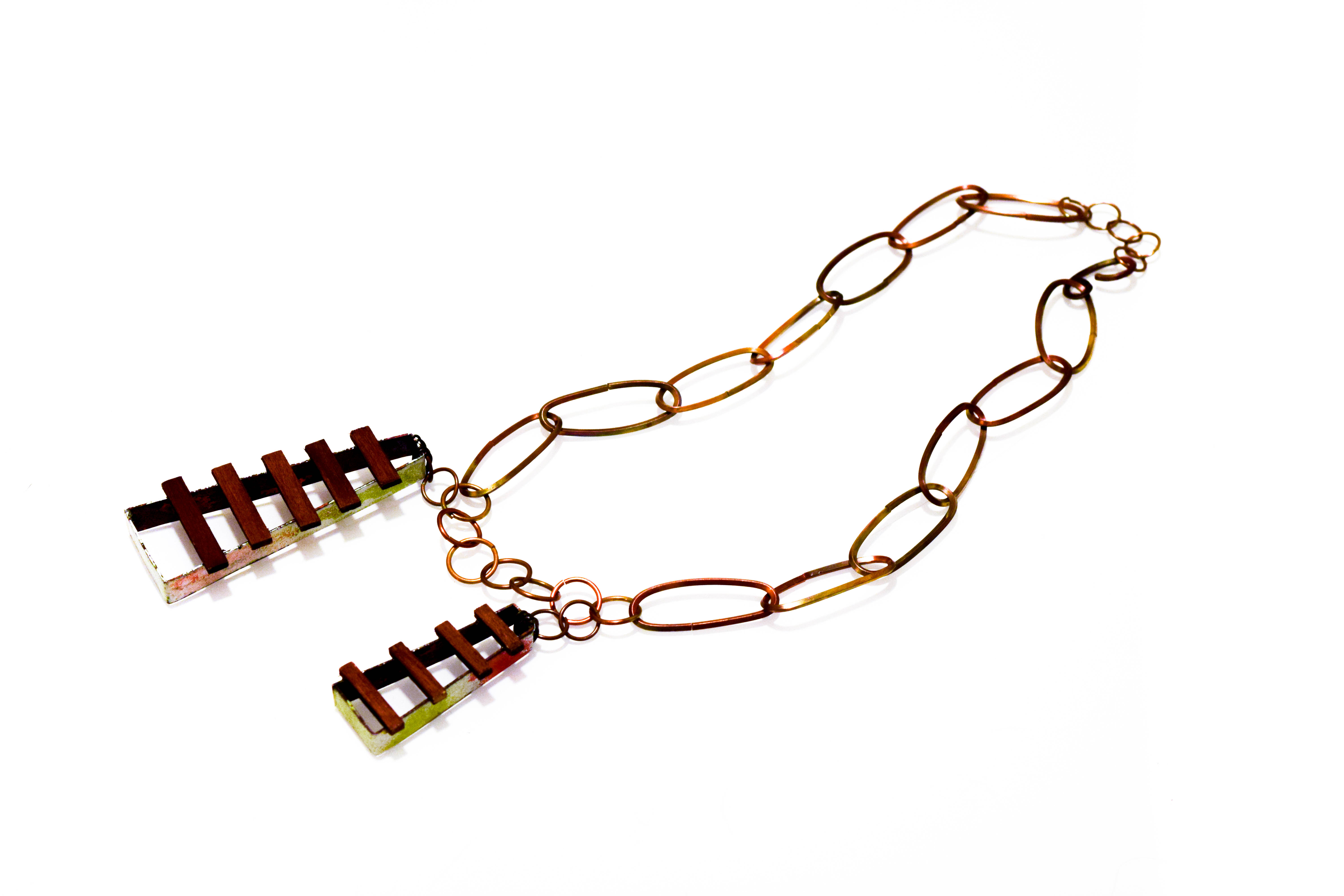 Long Tracks Necklace