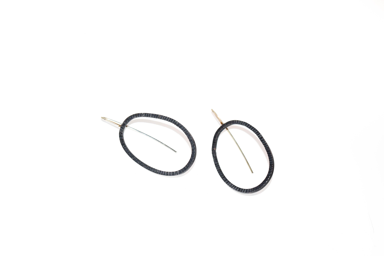 Large Oval Earrings
