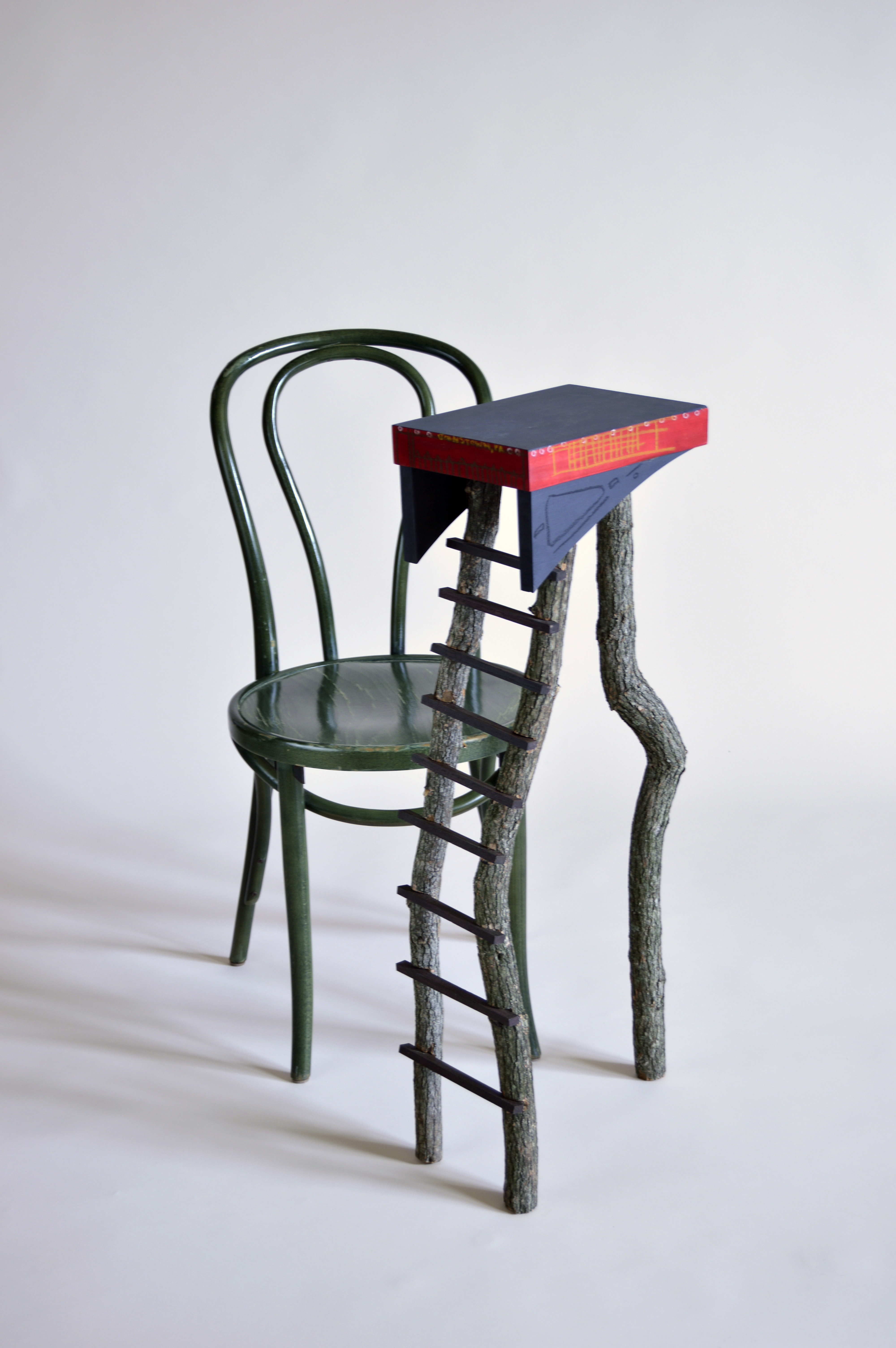 Inclined Side Table