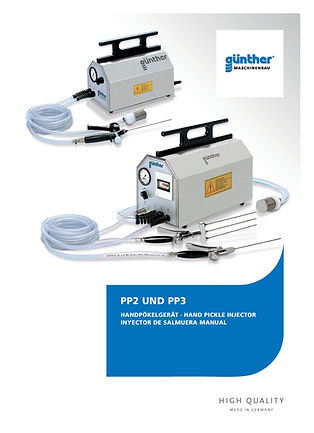 Guenther injector PP2 and PP3 E-Tek Processing and Packaging Innovations