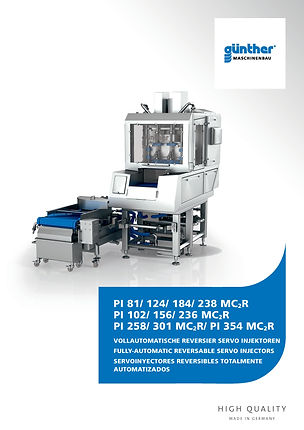 Guenther PI injector E-Tek Processing and Packaging Innovations