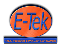 E-tek logo E-Tek Processing and Packaging Innovations