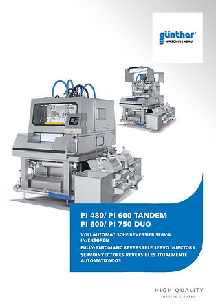 Guenther PI duo and tandem servo injector E-Tek Processing and Packaging Innovations