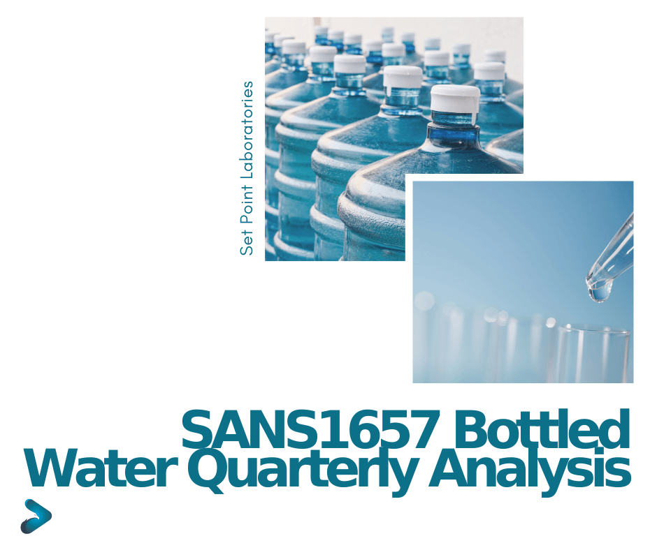 SANS1657 Quarterly Water Testing Package SPL