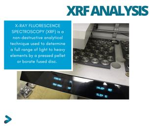 XRF Major Minerals Testing SPL