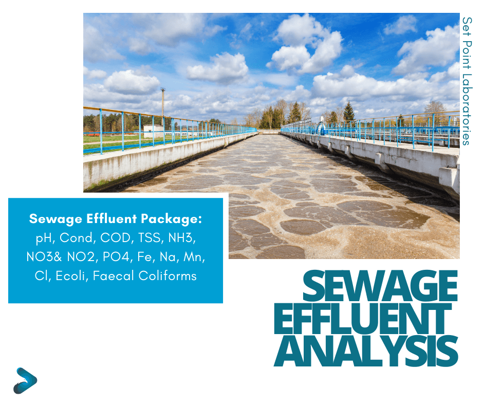 Sewage Effluent Testing Package SPL