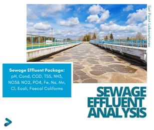 Sewage Effluent Testing Package SPL