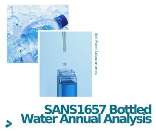 SANS1657 Annual Water Analysis Package SPL