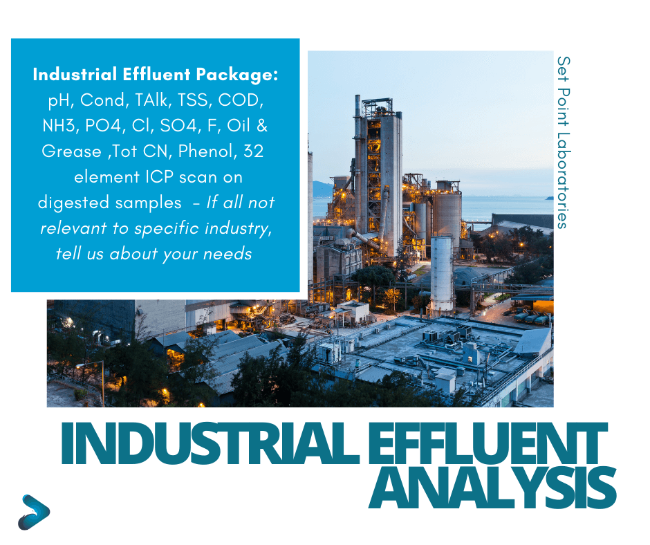 Industrial Effluent Water Analysis Package