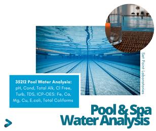 Pool & Spa Water Testing SPL