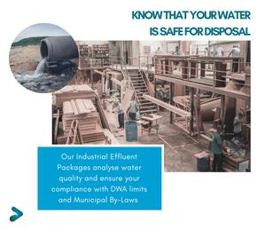 Industrial Effluent Water Analysis