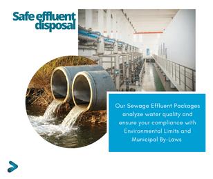 Sewage Effluent Water Analysis