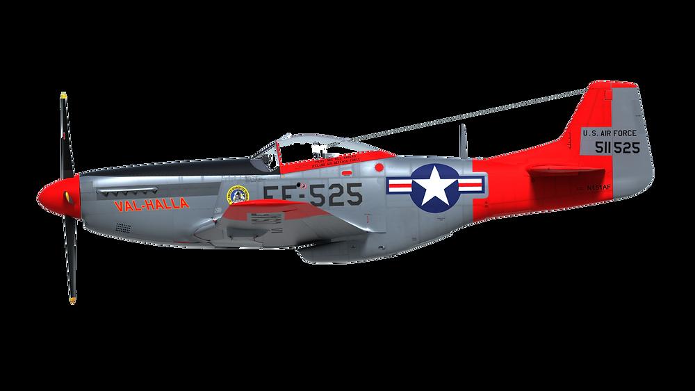 Val-Halla P-51